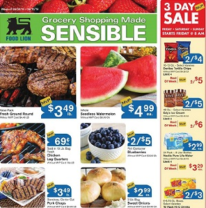 Food Lion Circular And Weekly Specials