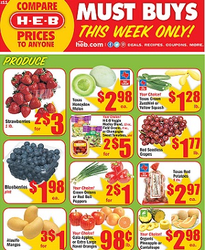 Weekly Sales Circular >> Heb Weekly Ad Sale