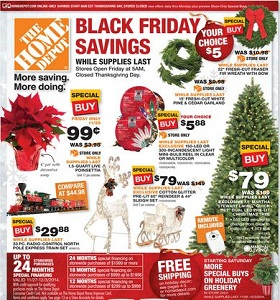Home Depot Black Friday sales