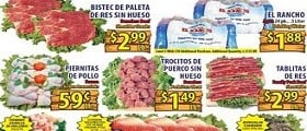 El Rancho Savings March 25 – March 31, 2015. Boneless Beef Shoulder Steaks
