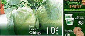 Valli Produce Weekly Savings March 11 – 17, 2015. Fresh Green Cabbage Sale!
