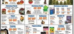 Hobby Lobby Weekly Ad October 11 – 17, 2015. Round Button Wall Plaque