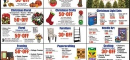 Hobby Lobby Ad Sale November 1-7, 2015. White & Blue LED Electric Menorah