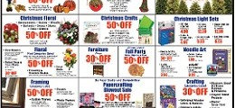 Hobby Lobby Weekly Ad 11/22 – 11/26/2015. Pre-Black Friday Deals