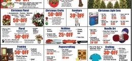 Hobby Lobby Weekly Flyer November 29 – December 5, 2015. Hobbies Sale