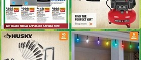The Home Depot Ad November 14 – November 18, 2015. Black Friday Savings!