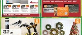 The Home Depot Circular November 21 – November 25, 2015. Black Friday Savings!