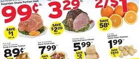 Hannaford Weekly Specials December 13 – 19, 2015. Semi-Boneless Lamb Leg