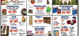 Hobby Lobby Ad December 20 – December 26, 2015. Christmas Lights