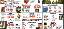 Hobby Lobby Weekly Circular December 6 – 12, 2015. Christmas Sale