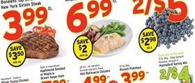 Hannaford Weekly Deals January 10 – 16, 2016. All Natural Whole or Half Pork Picnic