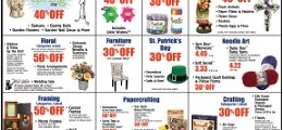 Hobby Lobby Weekly Ad October 22 – October 28, 2017