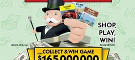 Albertsons Monopoly 2016 – Albertsons Big Prizes and Money Saving Offers