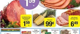 Ruler Foods Weekly Ad March 3 - March 30, 2016. Private Selection Honey Spiral Half Ham