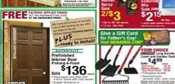 Menards Flyer October 22 – October 28, 2017