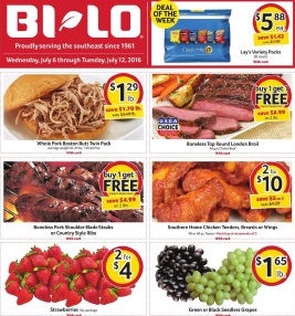 BILO Weekly Ad July 6 July 12 2016 Seedless Grapes