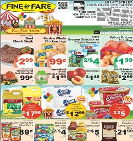 fine fare coupons