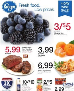 Kroger Weekly Ad July 6 - July 12, 2016