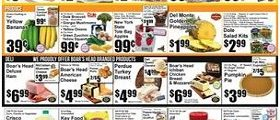 Key Food Weekly Sale Ad October 21 – October 27, 2016. General Mills Cereal on Sale!