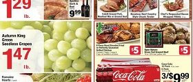 Shaw's Weekly Circular Ad October 28 – November 3. 2016. BoGo Meat Sale!