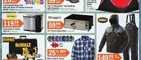 Fleet Farm Circular Ad November 11 – November 19, 2016. We Are Outdoor!