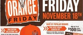 Fleet Farm Weekly Deals November 11 – November 19, 2016. Orange Friday!
