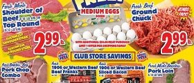 Western Beef Weekly Ad November 4 – November 10, 2016. Butterball Turkey Kielbasa