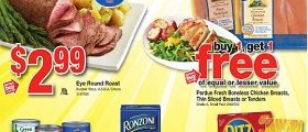 Stop&Shop Weekly Ads December 9 – December 15, 2016. Eye Round Roast