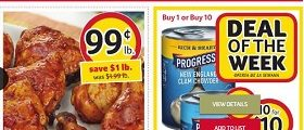 Winn Dixie Weekly Sale Ad January 18 – January 24, 2017. Boneless Pork Shoulder Blade Steaks