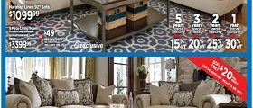 Ashley Furniture Weekly Specials February 7 – February 13, 2017. Presidents Day Sale!