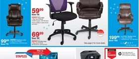 Staples Weekly Sales Ad February 26 – March 4, 2017. Chair Event!