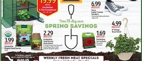 Aldi Ad March 8 – March 14, 2017. Spring Savings!