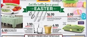 Aldi Weekly Ads April 5 – April 11, 2017. Set The Table for a Great Easter!
