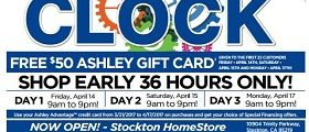 Ashley Furniture Weekly Deals March 28 – April 3, 2017. Beat The Clock!