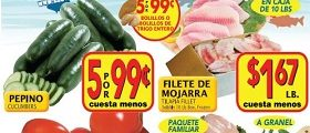El Super Weekly Ad March 1 – March 7, 2017. Tilapia Fillet on Sale!