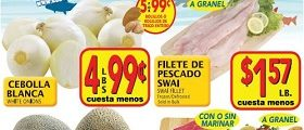 El Super Weekly Specials March 22 – March 28, 2017. Swai Fillet on Sale!