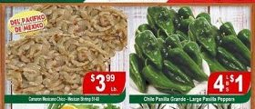 La Bonita Supermarkets Weekly Ads March 1 – March 7, 2017. Large Pasilla Peppers