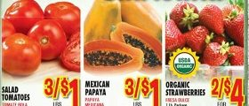 Vallarta Weekly Specials March 22 – March 28, 2017. Mexican Papaya on Sale!
