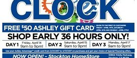 Ashley Furniture Weekly Deals April 4- April 10, 2017. Love It For Less!