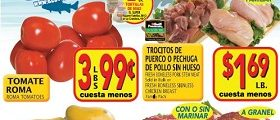 El Super Weekly Sales Ad April 5 – April 11, 2017. Fresh Boneless Pork Stew Meat