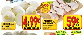 El Super Weekly Sales Ad April 26 – May 2, 2017. Fresh Chicken Drumsticks