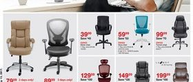 Staples Weekly Deals May 7 – May 13, 2017. Chair Event!