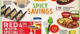 Aldi Weekly Circular July 5 – July 11, 2017. Spicy Savings!