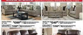 Ashley Furniture Weekly Specials June 27 – July 3, 2017. Best 4th Of July Offer Ever!