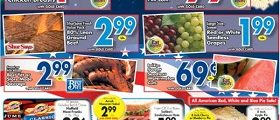 Gerrity's Weekly Sales Ad June 25 – July 1, 2017. July 4th Sale-a-bration!