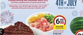 Winn Dixie Weekly Specials June 28 – July 4, 2017. Happy 4th Of July!