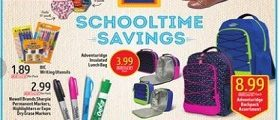 Aldi Weekly Flyer Specials July 26 – August 1, 2017. Schooltime Savings!