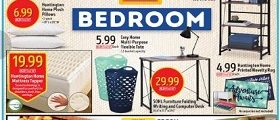 Aldi Weekly Sales Ad August 2 - August 8, 2017. Bedroom Essentials Deals!