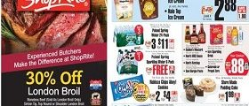ShopRite Weekly Flyer July 30 – August 5, 2017. London Broil on Sale!