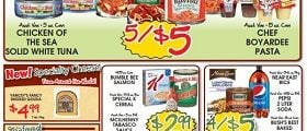 grocery store weekly ad circulars